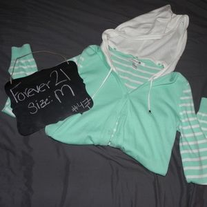Forever 21 Cardigan with detachable hood